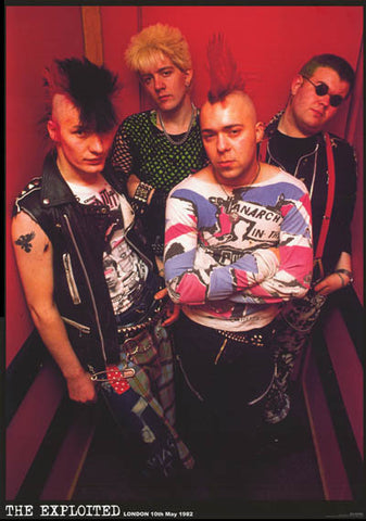 The Exploited Band Poster