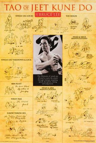 Bruce Lee Jeet Kune Do Poster
