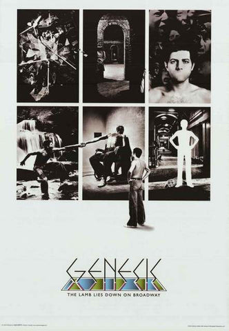 Genesis Lamb Lies Down on Broadway Poster