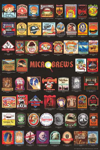 Microbrews Beer Poster