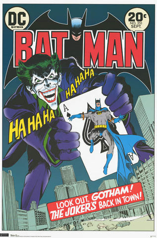 Batman The Joker DC Comics Poster
