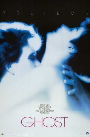 GHOST BELIEVE PATRICK SWAYZE DEMI MOORE 24x36 POSTER