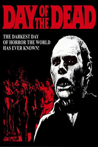 Day of the Dead Zombie Movie Poster