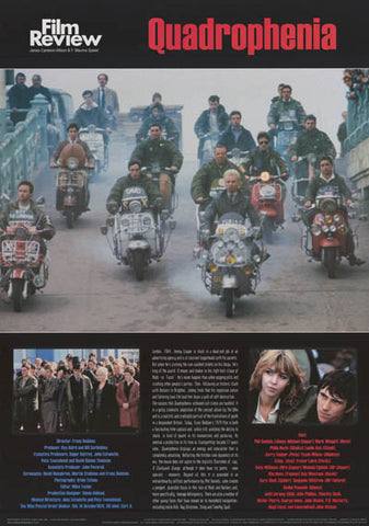 Quadrophenia Film Review Poster