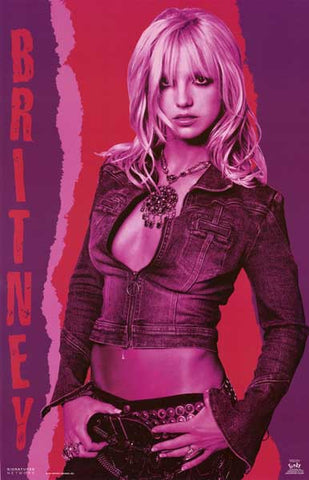 Britney Spears Maiden of Mauve Portrait 22x34 Poster