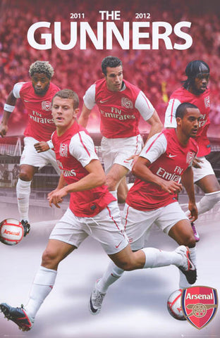 Arsenal FC Gunners All-Stars Poster