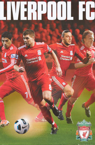 Liverpool FC All-Stars Poster