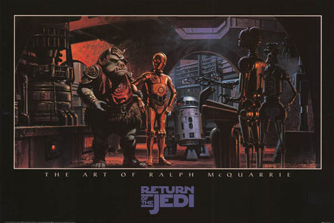 Star Wars Ralph McQuarrie Poster