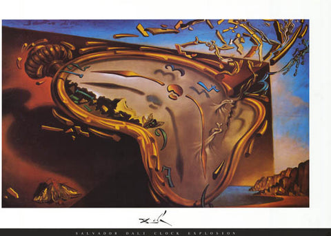 Salvador Dali Soft Watch Poster