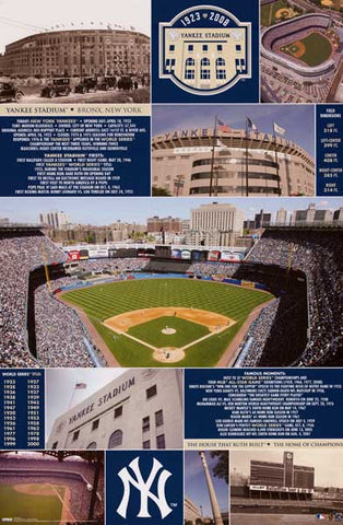New York Yankees Stadium Trivia Poster