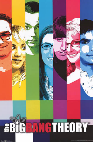 Big Bang Theory TV Show Poster