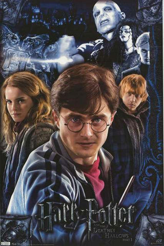 Harry Potter Deathly Hallows Movie Poster