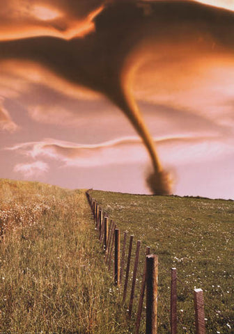Tornado Extreme Weather Poster