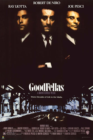 Goodfellas Movie Poster 24x36