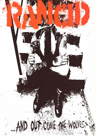 Rancid ...And Out Come the Wolves Poster 24x33