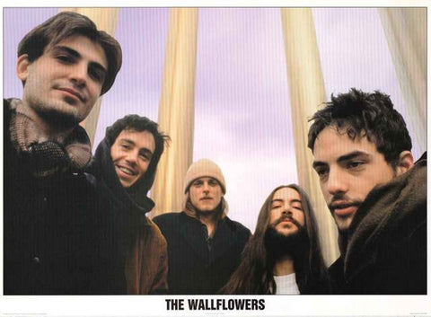 The Wallflowers Band Poster