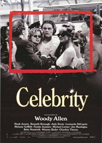 Celebrity Woody Allen Movie Poster