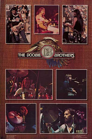 Doobie Brothers Band Poster