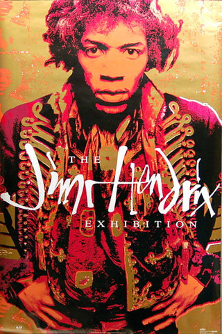 JIMI HENDRIX THE EXHIBITION Orig 1992 23x36 POSTER