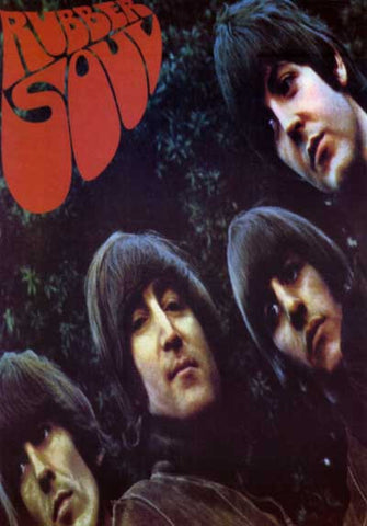 The Beatles Rubber Soul Poster