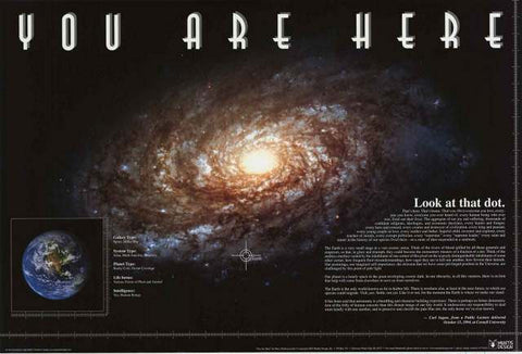 Milky Way Galaxy Poster