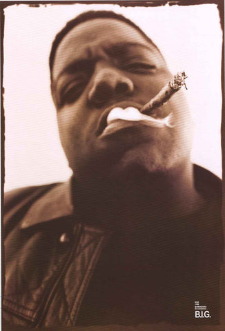 Notorious BIG Portrait Poster