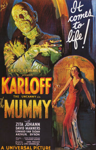 The Mummy Boris Karloff Movie Poster