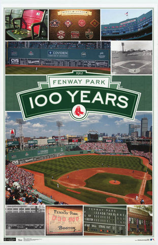 Boston Red Sox Fenway Park Poster