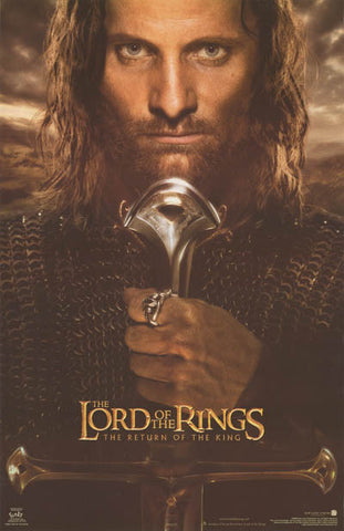 Lord of the Rings Aragorn Poster