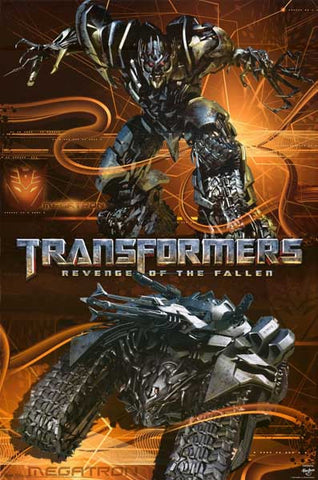 Transformers Megatron Movie Poster