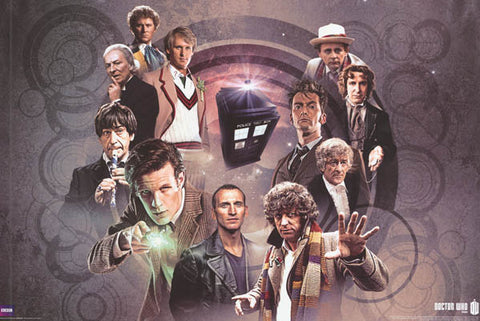 Doctor Who TV Show Cast Poster
