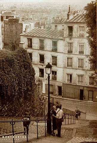 Montmartre Paris France Poster