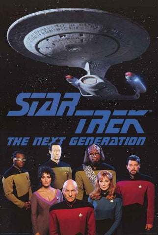 Star Trek Next Generation Poster