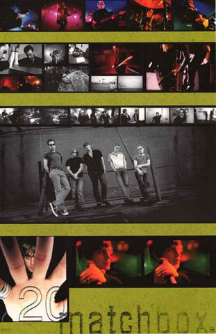 Matchbox Twenty Band Poster
