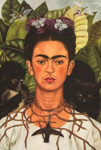 Frida Kahlo Art Poster