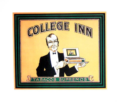 COLLEGE INN CIGAR STORE ART 16x20 POSTER