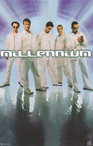 Backstreet Boys Millenium Original 1999 22x34 Poster