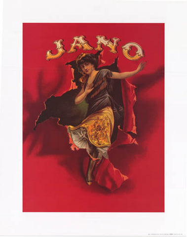 JANO CIGAR STORE ART 16x20 POSTER