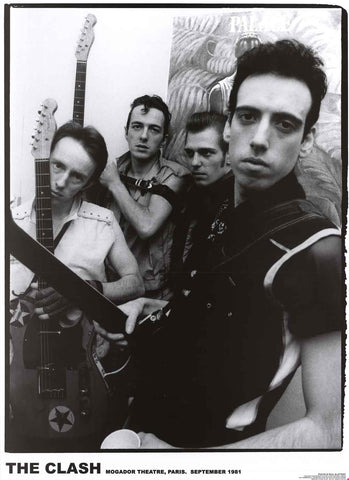 The Clash Band Poster