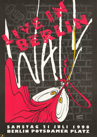 Roger Waters The Wall Live In Berlin Poster