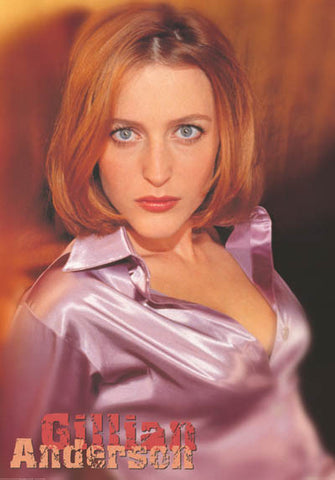 Gillian Anderson X-Files Poster