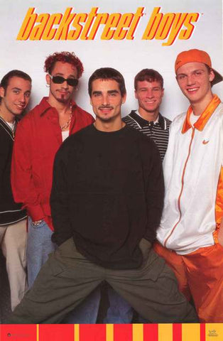 The Backstreet Boys Band Poster