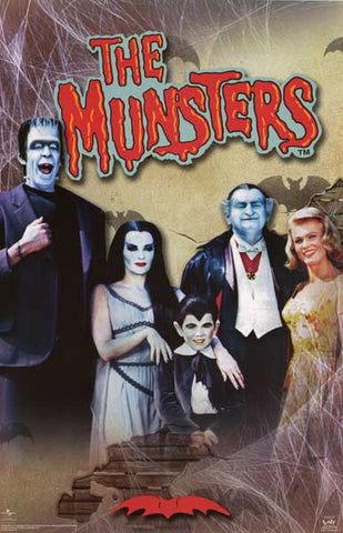 The Munsters TV Show Poster