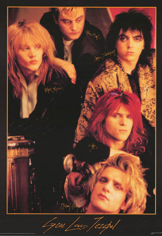 Gene Loves Jezebel House of Dolls orig1987 23x33 Poster