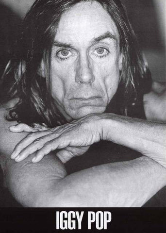 Iggy Pop Portrait Poster