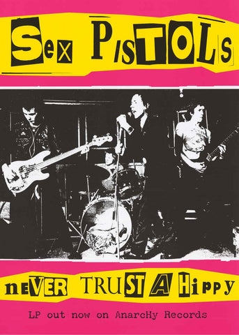 Sex Pistols Band Poster