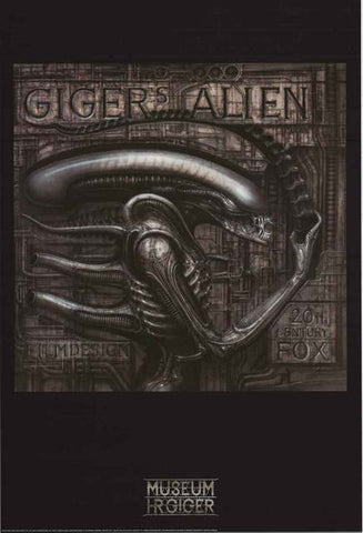 HR Giger Alien Art Poster