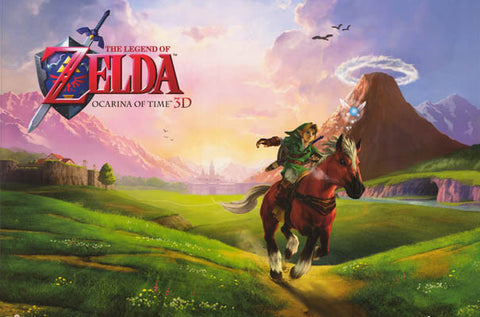 Legend of Zelda Video Game Poster