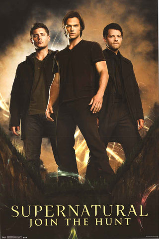 Supernatural TV Show Poster