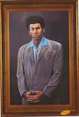 Seinfeld The Kramer Poster